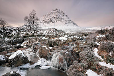 Photograph - Glencoe Winter Morning by Grant Glendinning