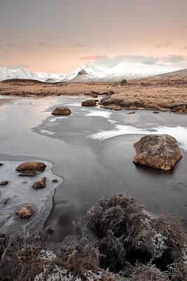Photograph - Glencoe Winter Sunrise by Grant Glendinning