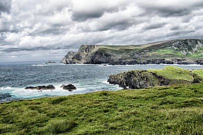 Photograph - Glencolmcille by Alan Toepfer