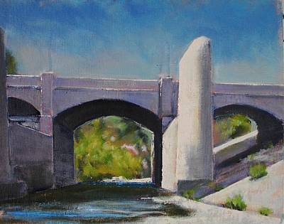 Painting - Glendale Bridge #2 by Richard Willson