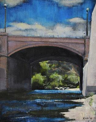 Painting - Glendale Bridge by Richard Willson