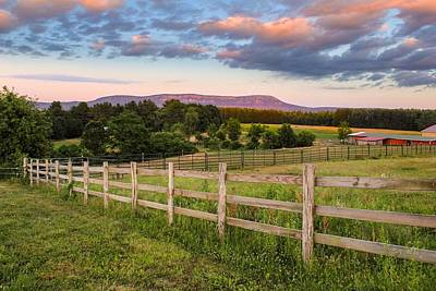 Photograph - Glendale Road View Of Mount Tom by Sven Kielhorn