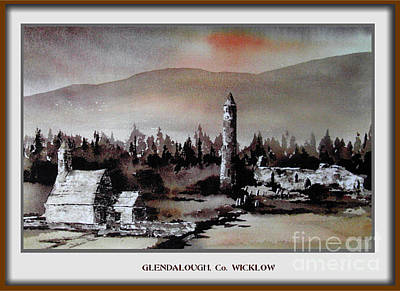 Painting - Glendalough, Co. Wicklow by Val Byrne