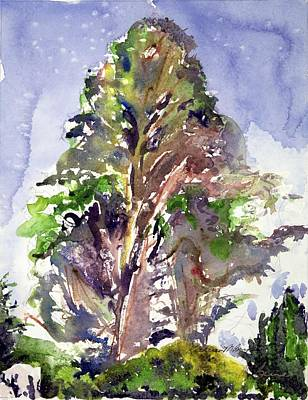 Painting - Glendalough Tree by Kathleen Barnes