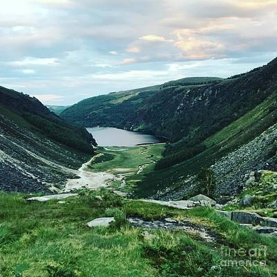 Photograph - Glendalough Upper Lake by Eva Ason