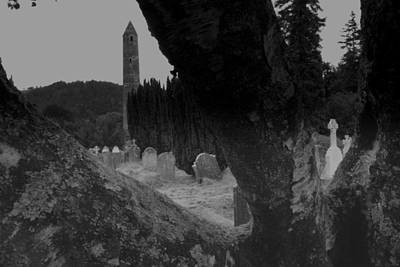 Beautiful Ireland Photograph - Glendalough View by John Quinn