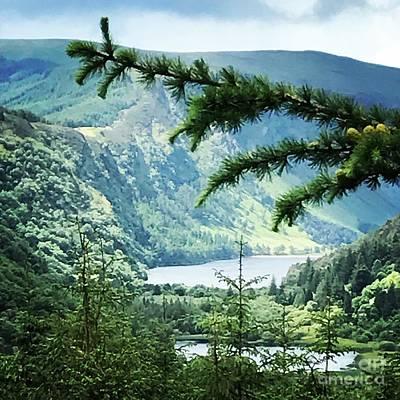 Photograph - Glendalough Wicklow by Eva Ason