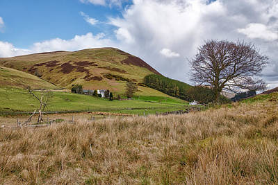 Photograph - Glendevon In Central Scotland by Jeremy Lavender Photography