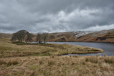 Photograph - Glendevon Reservoir In Scotland by Jeremy Lavender Photography