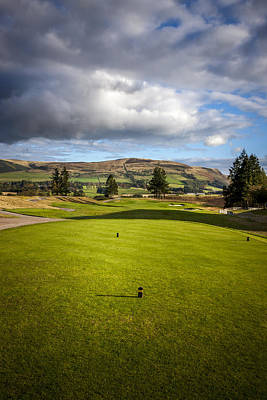 Photograph - Gleneagles Golf Course by Alex Saunders