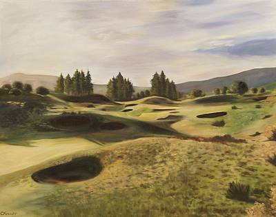Painting - Gleneagles Kings Course by Christina Knapp