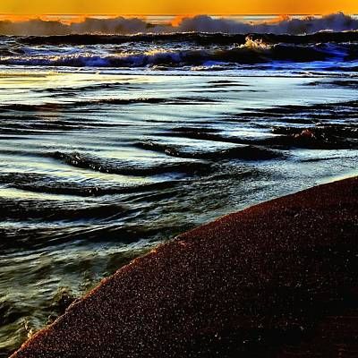 Jerry Sodorff Royalty-Free and Rights-Managed Images - Gleneden Sunset 6839 by Jerry Sodorff
