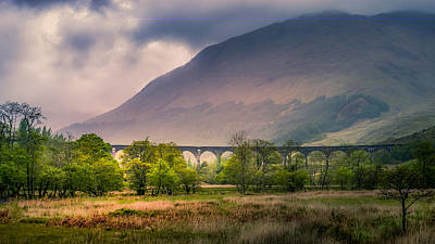 Photograph - Glenfinnan Viaduct by Allin Sorenson