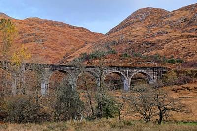 Photograph - Glenfinnan Viaduct by Jeremy Lavender Photography