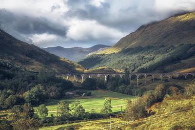 Potter Photograph - Glenfinnan Viaduct No 1 by Chris Fletcher
