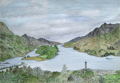 Painting - Glenfinnan by Yvonne Johnstone