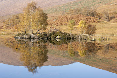 Glengarry Reflection Art Print
