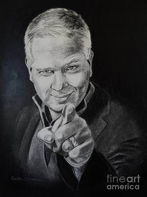Drawing - Glenn Beck by Carla Carson