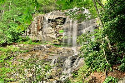Photograph - Glenn Falls Nc by Lisa Wooten