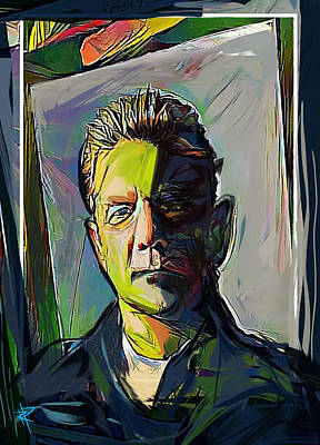 Mixed Media - Glenn Frey by Russell Pierce