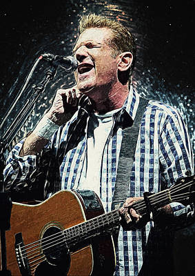 Music Royalty-Free and Rights-Managed Images - Glenn Frey by Zapista Zapista