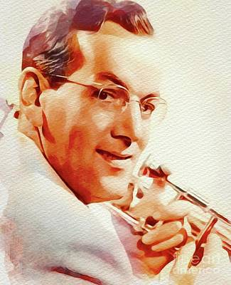 Jazz Royalty-Free and Rights-Managed Images - Glenn Miller by John Springfield