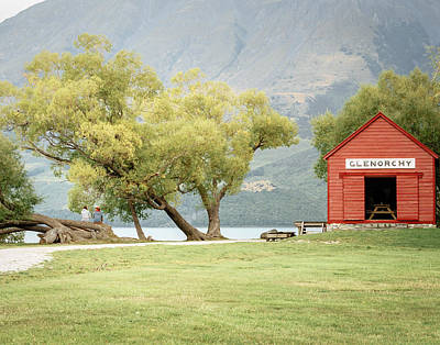 Glenorchy Boathouse Art Print by James Udall