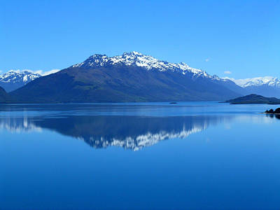 Photograph - Glenorchy Road New Zealand by Sandy Taylor
