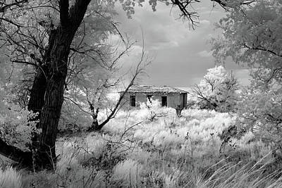 Photograph - Glenrio Homestead by James Barber