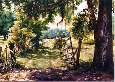 Glen's Pasture Art Print by Marion  Hylton
