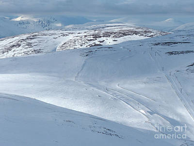 Photograph - Glenshee Skiers Panorama by Phil Banks