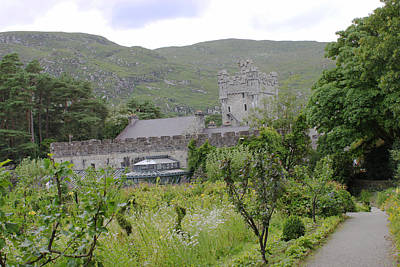 Photograph - Glenveagh Castle Gardens 4287 by John Moyer