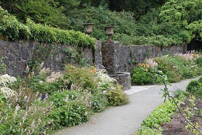 Photograph - Glenveagh Castle Gardens 4288 by John Moyer