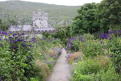 Photograph - Glenveagh Castle Gardens 4292 by John Moyer
