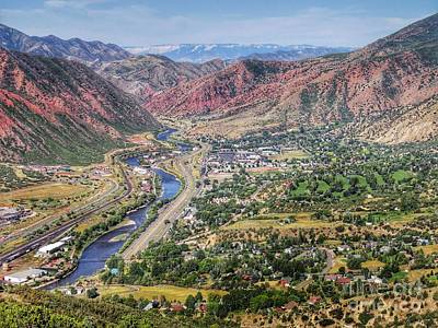 Painting - Glenwood Springs Colorado by Anne Sands