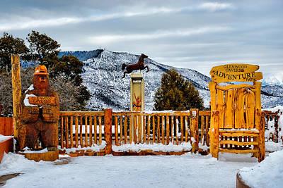Photograph - Glenwood Springs Park by Robert Meyers-Lussier