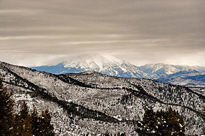 Photograph - Glenwood Springs Park View by Robert Meyers-Lussier
