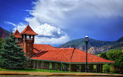 Photograph - Glenwood Springs Train Station by Carolyn Derstine