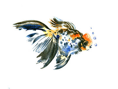 Goldfish Painting - Goldfish by Suren Nersisyan