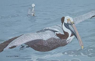 Glider Art Print by Anita Putman