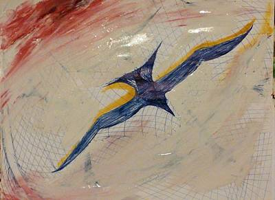 Painting - Gliding by Gregory Dallum