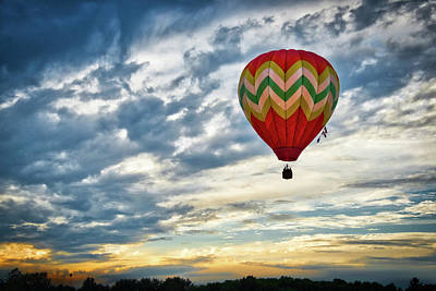 Photograph - Gliding Through Sunset by Neil Shapiro