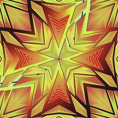 Digital Art - Gliftex Illustrative by Mario Carini