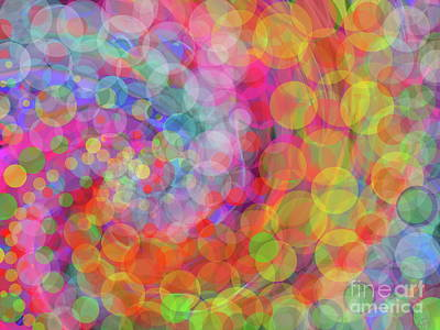 Digital Art - Glimmer  by Expressionistart studio Priscilla Batzell