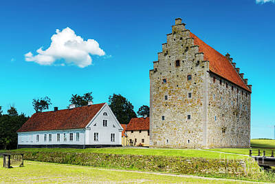 Photograph - Glimmingehus Castle In Sweden by Antony McAulay