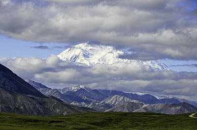 Photograph - Glimpse Of Denali by Phyllis Taylor