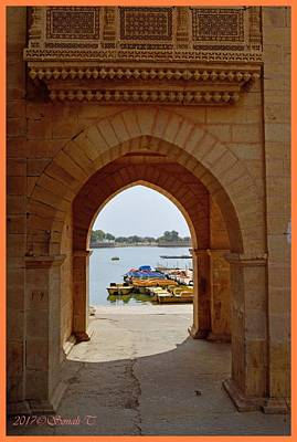 Photograph - Glimpse Of Gadisar Lake by Sonali Gangane