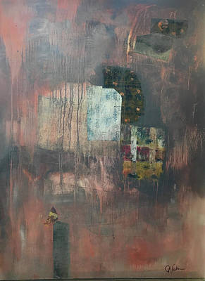 Painting - Glimpse Of Town by Judith Visker