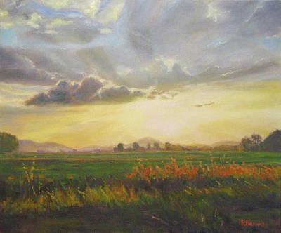 Painting - Glimpse by Robie Benve