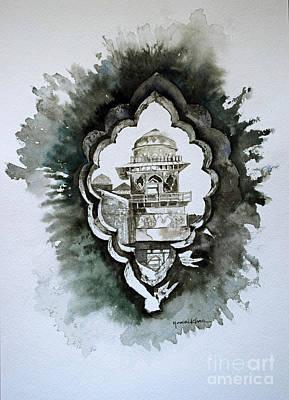 Madhya Pradesh Painting - Glimpse by Studio A